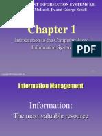Sistem Informasi Manajemen Ch 1