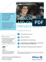 Allianz E-Hailing Add on Flyer