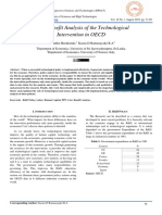 Cost - Benefit Analysis of the Technological  Intervention in OECD
