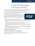7447 Windows Defender ATP Helps Analysts Investigate and Respond to Threats