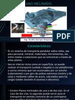 Presentacion N° 4 PLANO INCLINADO