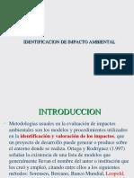 Identificacion de Impactos
