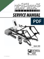 Optiflex 3 Knee CPM Service Manual