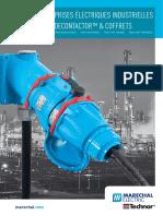 Catalogue Marechal Electric - Prises Électriques Industrielles Decontactor™ & Coffrets - 2014