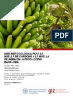 Guia metodologia para la huella de carbono y la huella de agua en la producción bananera