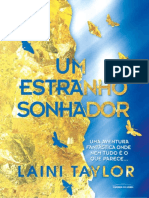 1. Um Estranho Sonhador - Laini Taylor