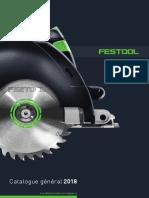 Catalogue Festool - Général - 2018