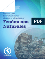 Evaluacion de Riesgos Fenomenos Naturales - Cenepred