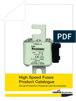 Catalogue Cooper Bussmann - High Speed Fuses - 2009