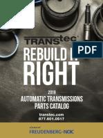 Catalago de partes automaticas transtec