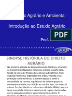 Direitoagrrio Introduo 140630110855 Phpapp01 (1)