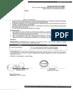 Modificacion fechas evaluación psicológica