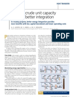 Increase crude unit capacity through better integration