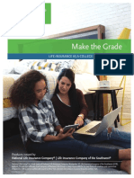 make the grade- life ins as a college funding strategy