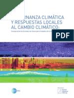 Gobernanza Climática y Respuestas Locales al Cambio Climático_ (Pdf)