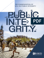 OECD Recommendation Public Integrity