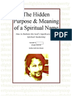The Hidden Purpose & Meaning of a Spiritual Name