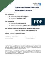 TFG Acuerdo Tutorizacion 2015-16