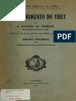 O descobrimento do Tibet P António de Andrade.pdf