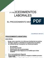 procedimiento derecho laboral