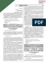 Disponen La Publicacion Del Documento Denominado Convencion Resolucion Ministerial No 212 2019 Tr 1803976