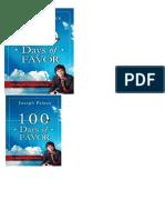 100 Dias Del Favor de Dios - Parte 1