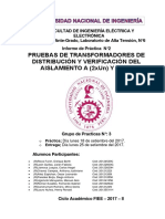 If2 Pruebas de Transformadores de Distribución