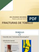 CLASE 10 - FRACTURA Y ESGUNCE DE TOBILLO.pptx