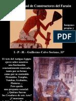La Fraternidad de Constructores del Faraón - Imágenes - I.·.P.·.H.·. Guillermo Calvo Soriano, 33º