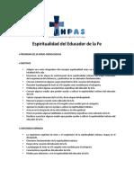 EL EDUCADOR ESPIRITUAL
