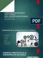 Exposicion Administración del RIESGO administrativo autocontrol autovaloracion.pptx