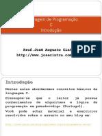 Linguagem c Introducão