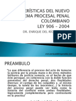 Características de Los Sistemas Procesales (1)