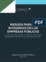 Riesgos para integridad en las empresas públicas