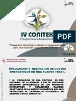 Reducción de Costos Energéticos en Plantas Textiles