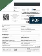 EJEMPLO DE CEDULA DE IDENTIFICACION FISCAL