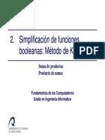 Tema2 1 Simplificacion de Funciones FC GII