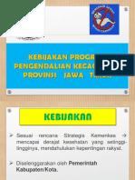 KEBIJAKAN Kecacingan Jawa Timur