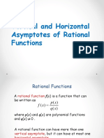 Vertical and Horizontal Assymptote of Rational Functions