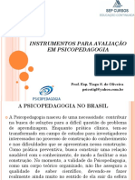 Slide - Diagnóstico e Intervenção Em Psicopedagogia