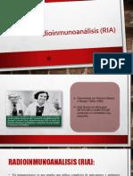 Radioinmunoanálisis (RIA)