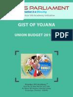 Gist of Yojana March 2018