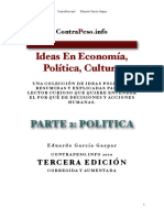 Parte 2 - Ideas en Politica, Cultura y Economia