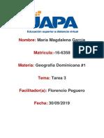 Tarea 3 de Geografia Dominicana Mmg