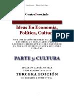 Parte 3 - Ideas en Politicas, Cultura y Economia