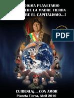 Paradigma planetario ¡O se muere la madre tierra o se muere el capitalismo! Cartilla 5