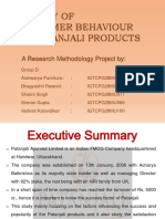 secondary research on Patanjali