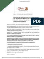 Lei Ordinária 3444 2018 de Santos SP