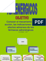 Compilado Clase Adrenergicos 2019 PDF