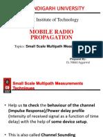 Small Scale Measurement Techniques (2)
